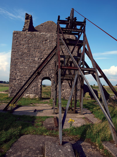Magpie Mine head stock and engine house